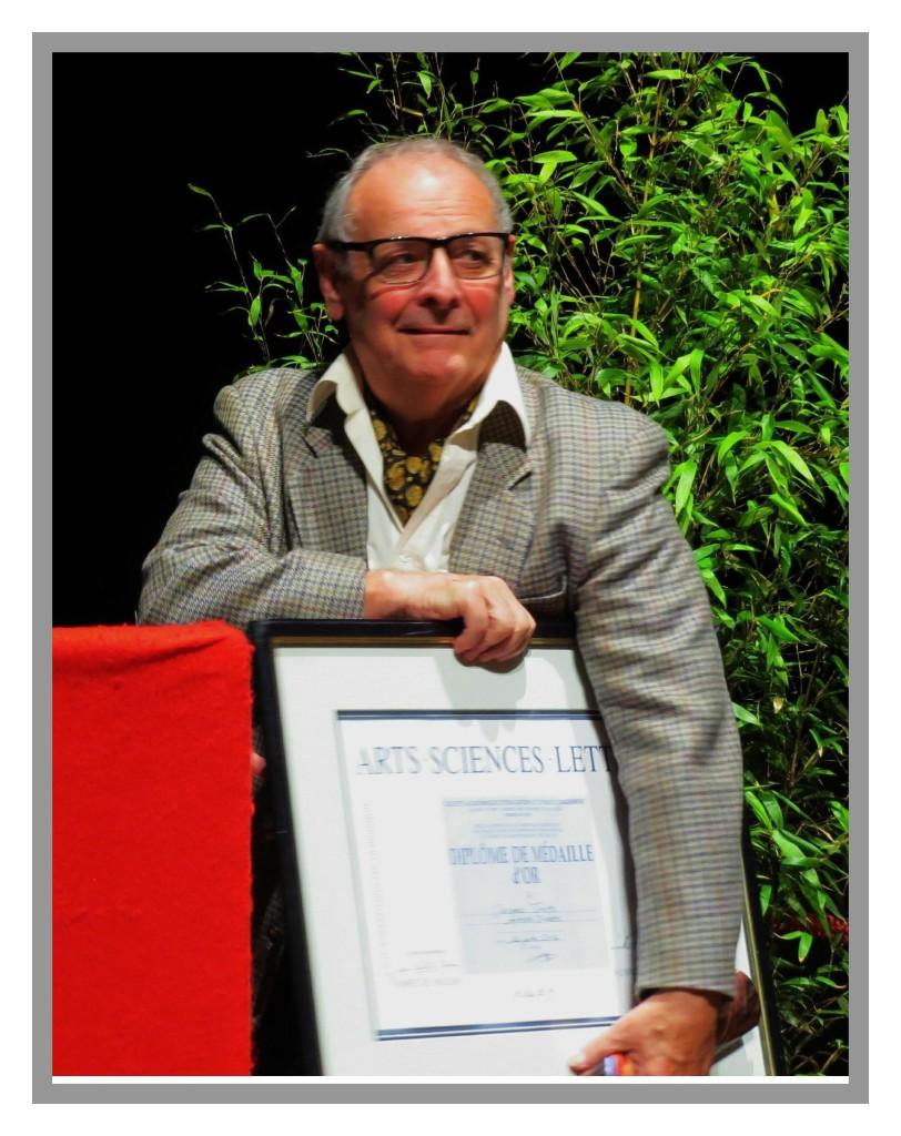 118 médaille d'or arts sciences lettres 2014